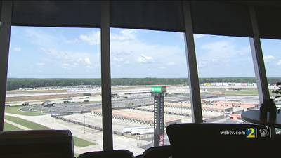 Few fans get to enjoy Atlanta NASCAR race in person - thanks to condos overlooking track