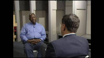Channel 2's Mark Winne recalls Hank Aaron interview as one of the most memorable of his career