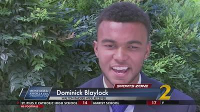 Walton's Dominick Blaylock: Montlick & Associates Athlete of the Week