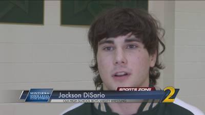 Ola's Jackson DiSario: Montlick & Associates Athlete of the Week