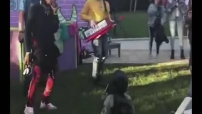WATCH: Atlanta rapper Offset of Migos freestyles for son's 3rd birthday