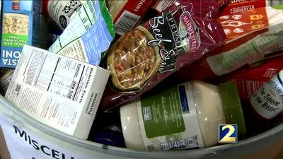 Thanksgiving dinner may look different this year for many families in need