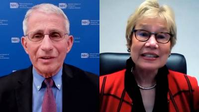 Dr. Fauci, DPH commissioner talk about COVID-19 vaccine hesitancy in Georgia