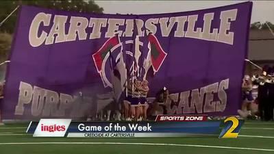 Ingles Game of the Week: Creekside vs. Cartersville