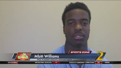Pace Academy's Mtibi Williams: Georgia Lottery Scholar Athlete