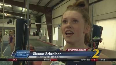 West Forsyth's Sienna Schreiber: Montlick & Associates Athlete of the Week