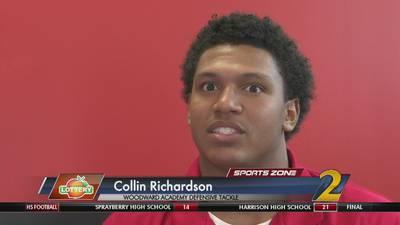 Woodward Academy's Collin Richardson: Georgia Lottery Scholar Athlete