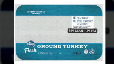 Recall alert: 14K pounds of ground Butterball turkey recalled