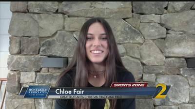 Greater Atlanta Christian's Chloe Fair: Montlick & Associates Athlete of the Week