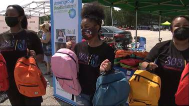 Atlanta Public Schools gives away 6,000 backpacks, school supplies and boxes of food
