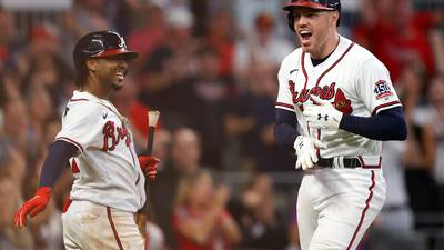 PHOTOS: Braves advance to NLCS with series win over Brewers