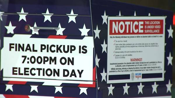 How DeKalb County residents can use absentee ballot drop boxes