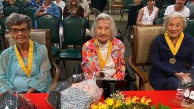 "Retirement community celebrates founding members of ""Century Club"""