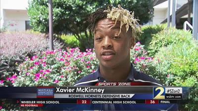 Xavier McKinney: Montlick & Associates Athlete of the Week