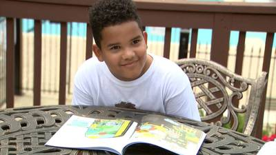 9-year-old Cobb County student overcomes learning challenges and writes book