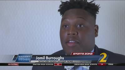 McEachern's Jamil Burroughs: Montlick & Associates Athlete of the Week