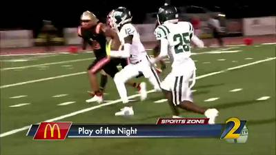 McDonald's Play of the Night: Travis Hunter turns on the jets