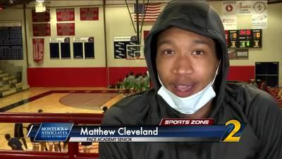 Pace Academy's Matthew Cleveland: Montlick & Associates Athlete of the Week