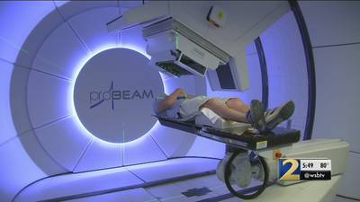 Georgia father fights cancer with different type of radiation treatment