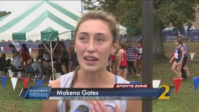 Creekview's Makena Gates: Montlick & Associates Athlete of the Week