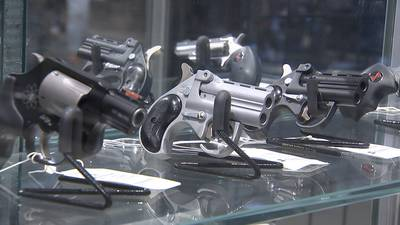 Gun shop owners see big rise in gun sales as crime continues to spike across Atlanta