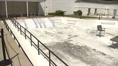 New life for the historic swimming pools of Warm Springs