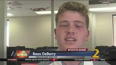 Grayson's Beau DeBerry: Georgia Lottery Scholar Athlete