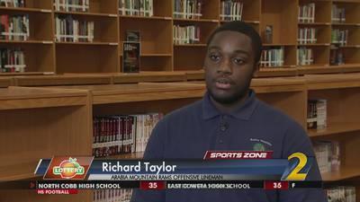 Arabia Mountain's Richard Taylor: Georgia Lottery Scholar Athlete