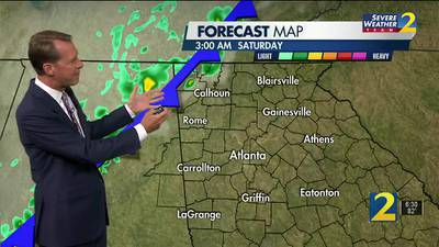 An abrupt change coming to our temperatures in the hours ahead