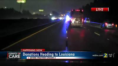 Convoy of Care begins journey to deliver Ida donations to Louisiana victims