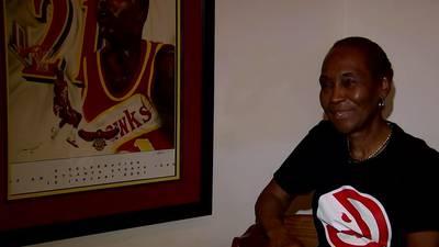 Meet the Atlanta Hawks superfan who's had season tickets for 40 years