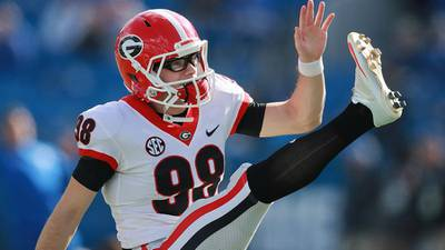 UGA's Blankenship could become 1st kicker to have name called in this year's draft