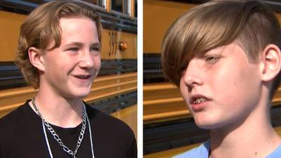 Middle schoolers save bus driver who had medical emergency while driving