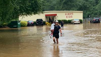 Firefighters rescue 27 children after rain flooded Cobb County day care