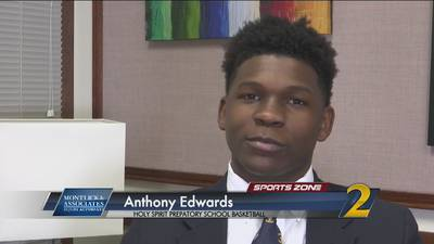 Holy Spirit Prep's Anthony Edwards: Montlick & Associates Athlete of the Week
