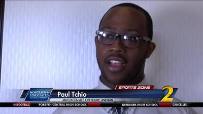 Milton's Paul Tchio: Montlick & Associates Athlete of the Week
