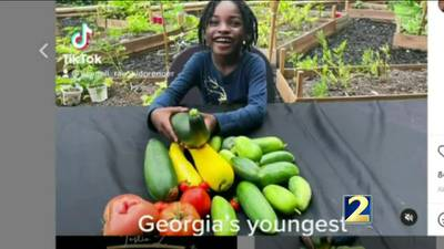 Six-year-old farmer honored for her lifetime of work
