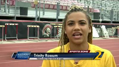 GAC's Trinity Rossum: Montlick & Associates Athlete of the Week