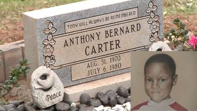 9-year-old Atlanta child murders victim honored with headstone 41 years after his death