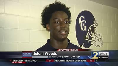 Cedar Grove's Jelani Woods: Montlick & Associates Athlete of the Week