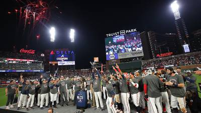 PHOTOS: Braves defeat Dodgers in NLCS, heading to World Series