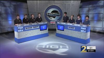Blessed Trinity vs Oconee County Season 34 High Q 20-02