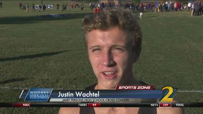 Mary Persons' Justin Wachtel: Montlick & Associates Athlete of the Week