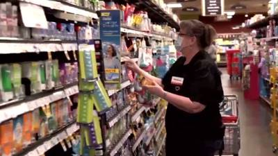Grocery store, meatpacking workers say food supply threatened if they're not vaccinated soon
