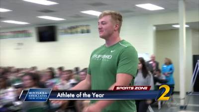 Buford's Harry Miller: Montlick & Associates 2019 Athlete of the Year