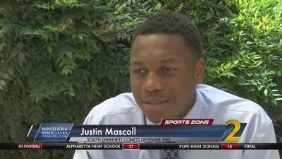 South Gwinnett's Justin Mascoll: Montlick & Associates Athlete of the Week