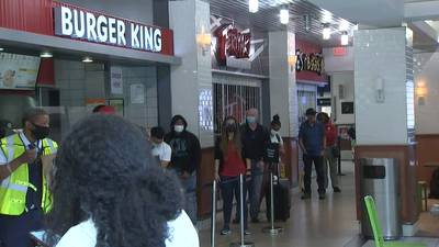 Staffing shortages causing long lines at businesses inside Atlanta's airport
