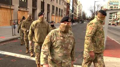 Channel 2 exclusive: On the ground with Georgia National Guard in D.C.