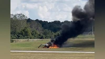 Plane went upside down before crashing, killing 4 at PDK, preliminary report says