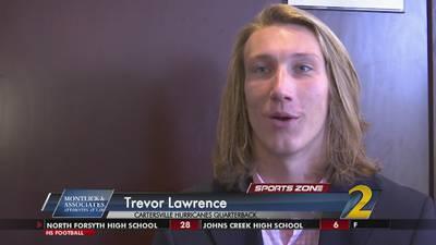 Cartersville's Trevor Lawrence: Montlick @ Associates Athlete of the Week